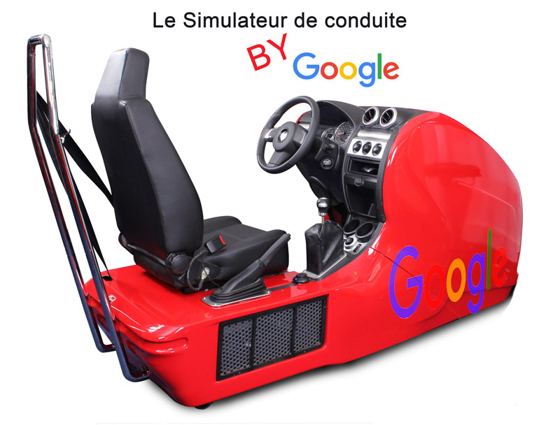 simulateur de conduite quand google maps se met au service des geeks. Black Bedroom Furniture Sets. Home Design Ideas
